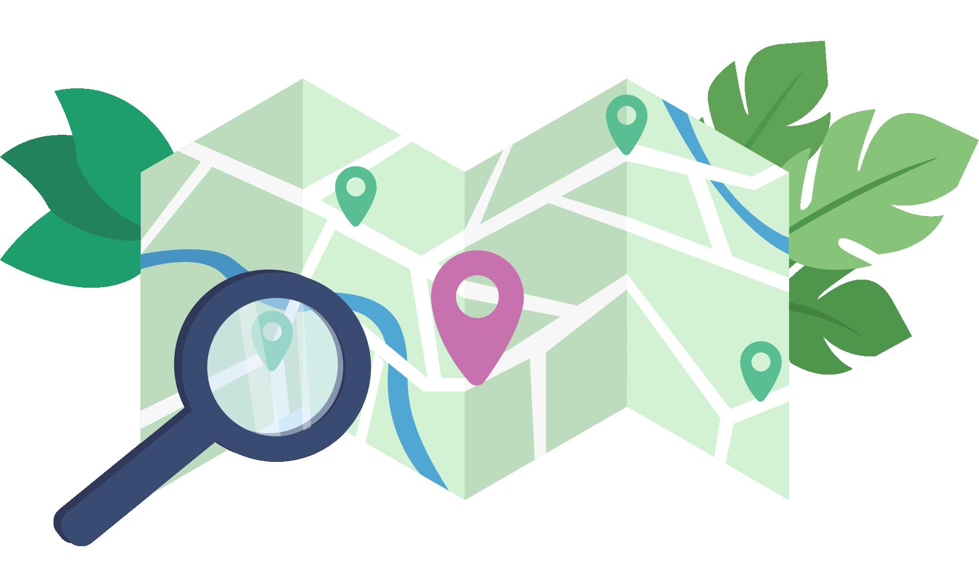 GPS tracker via kaart