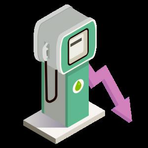 Besparing brandstof
