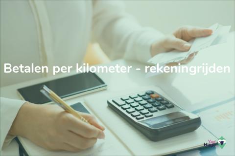 Betalen per kilometer: rekeningrijden